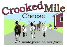 crooked mile cheese logo