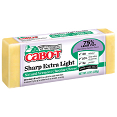 cabot sharp extra light cheese