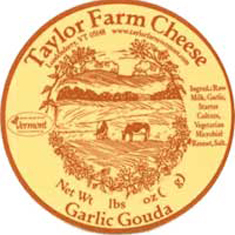 taylor farm cheese garlic gouda cheese