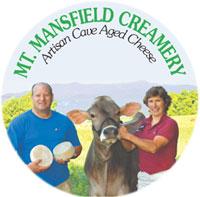 mt. mansfield creamery logo
