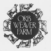 orb weaver farm logo