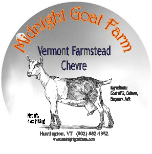 midnight goat farm vermont farmstead chevre cheese