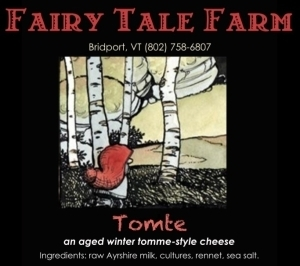 fairy tale farm tomte cheese