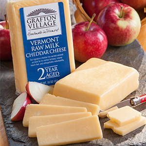 grafton village 2 year aged cheddar cheese