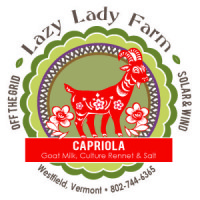 lazy lady farm capriola cheese