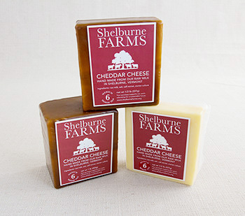 shelburne farms 6 months aged cheddar cheese