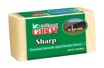 cabot sharp cheddar cheese