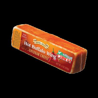 cabot hot buffalo wing cheddar cheese
