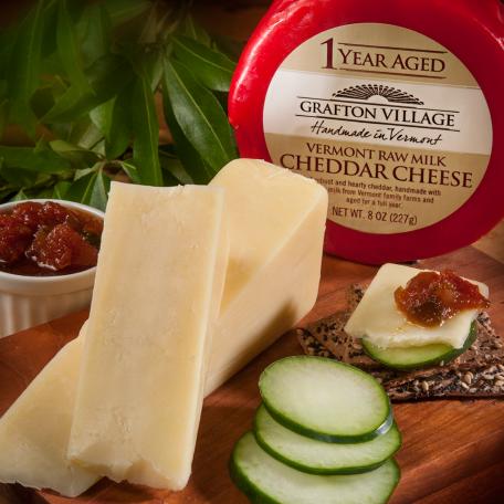 grafton village 1 year aged cheddar cheese