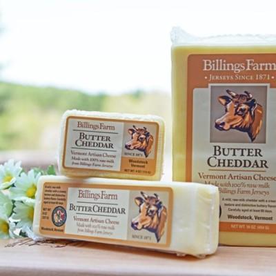 billing farm butter cheddar cheese