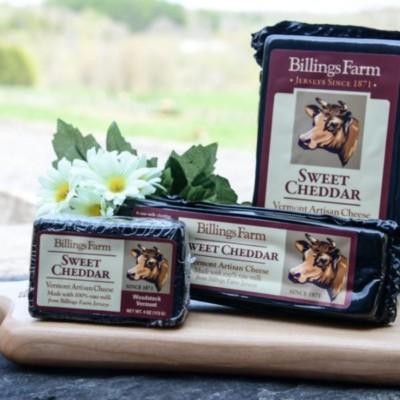 billings farm sweet cheddar cheese