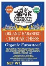 neighborly farms organic habanero cheddar cheese