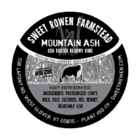 sweet rowen farmstead mountain ash cheese