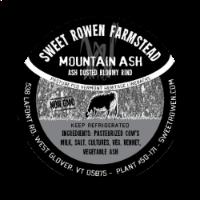 sweet rowen farmstead mountain ash cheese