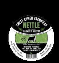 sweet rowen farm nettle cheese
