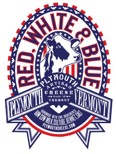 plymouth artisan cheese red white and blue cheese