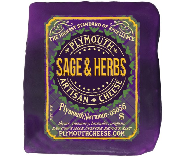 plymouth artisan cheese sage and herbs cheese