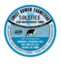 sweet rowen farmstead solstice cheese