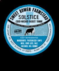 sweet rowen farmstead solstice cheese