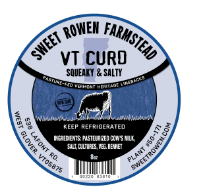 sweet rowen farmstead vt curd cheese