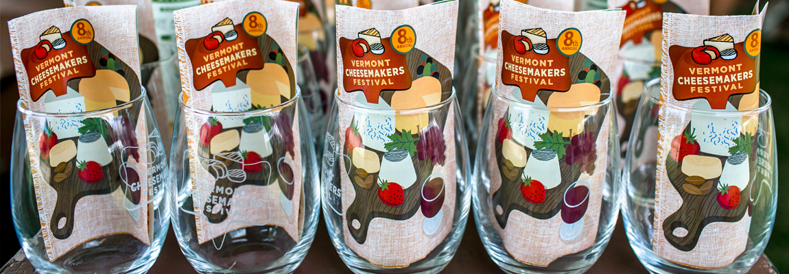 vermont cheesemakers festival wine glasses and maps slider